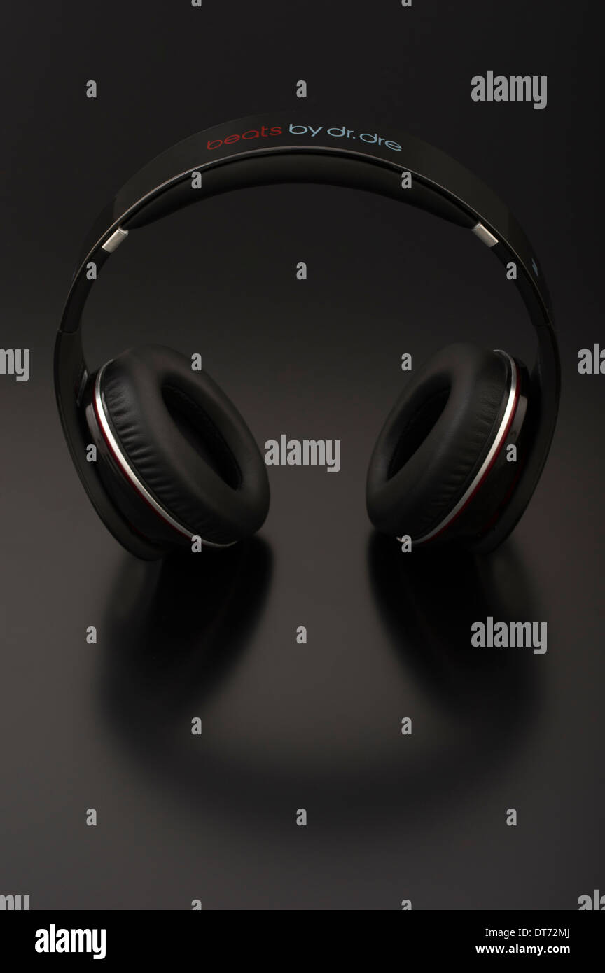 Beats by Dr. Dre iconic headphones - Stock Image
