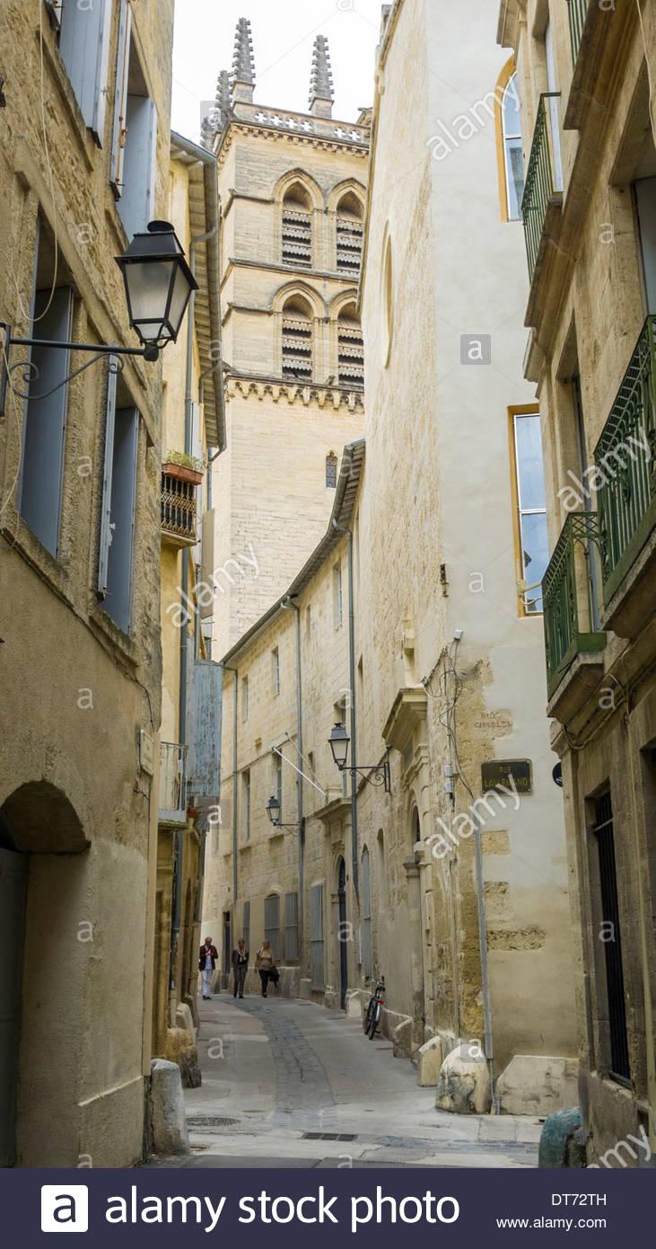 Cathédrale Saint-Pierre, Montpellier, Hérault Department, Languedoc-Roussillon, France - Stock Image