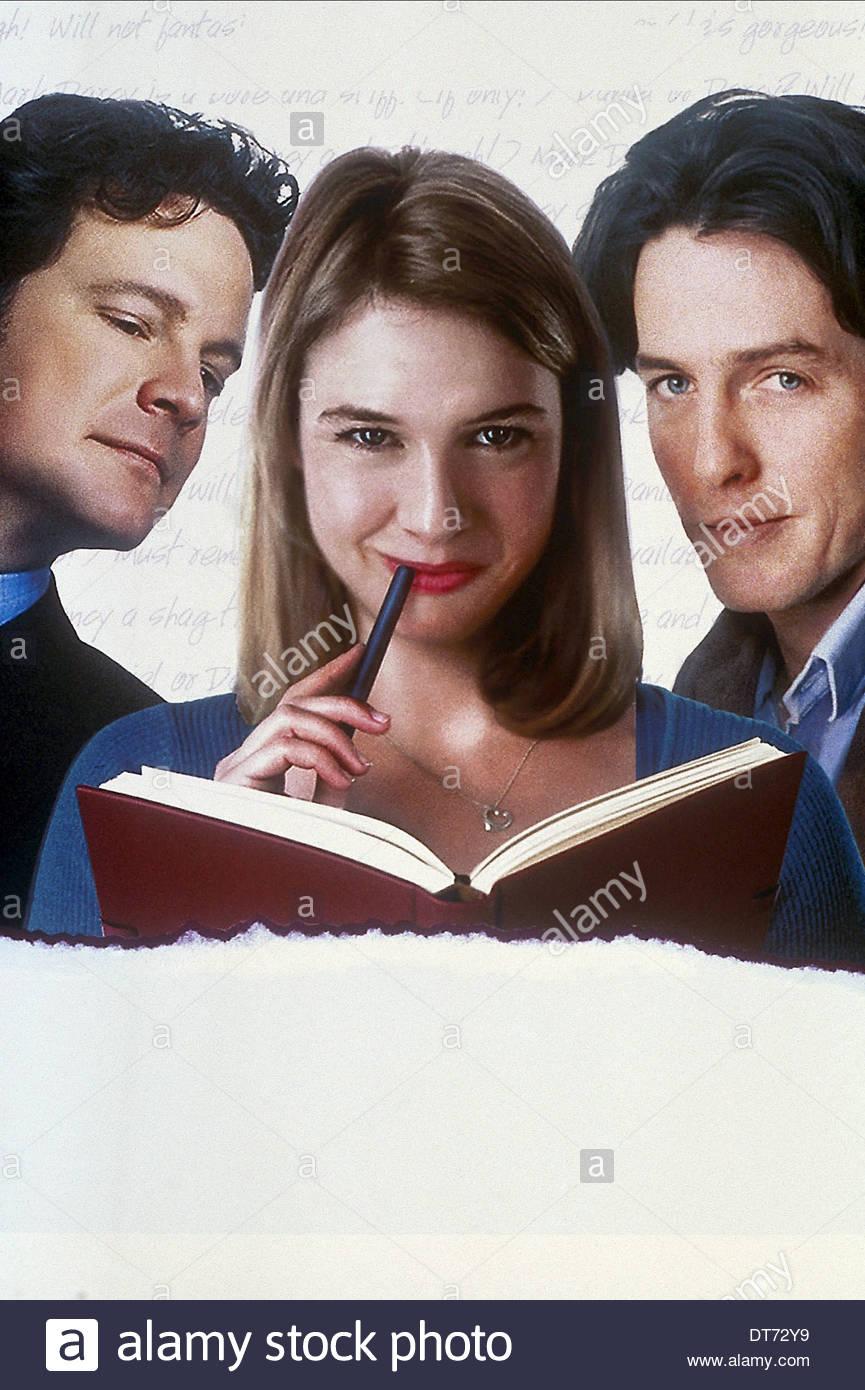 Movie Poster Bridget Jones S Diary 2001 Stock Photo Alamy