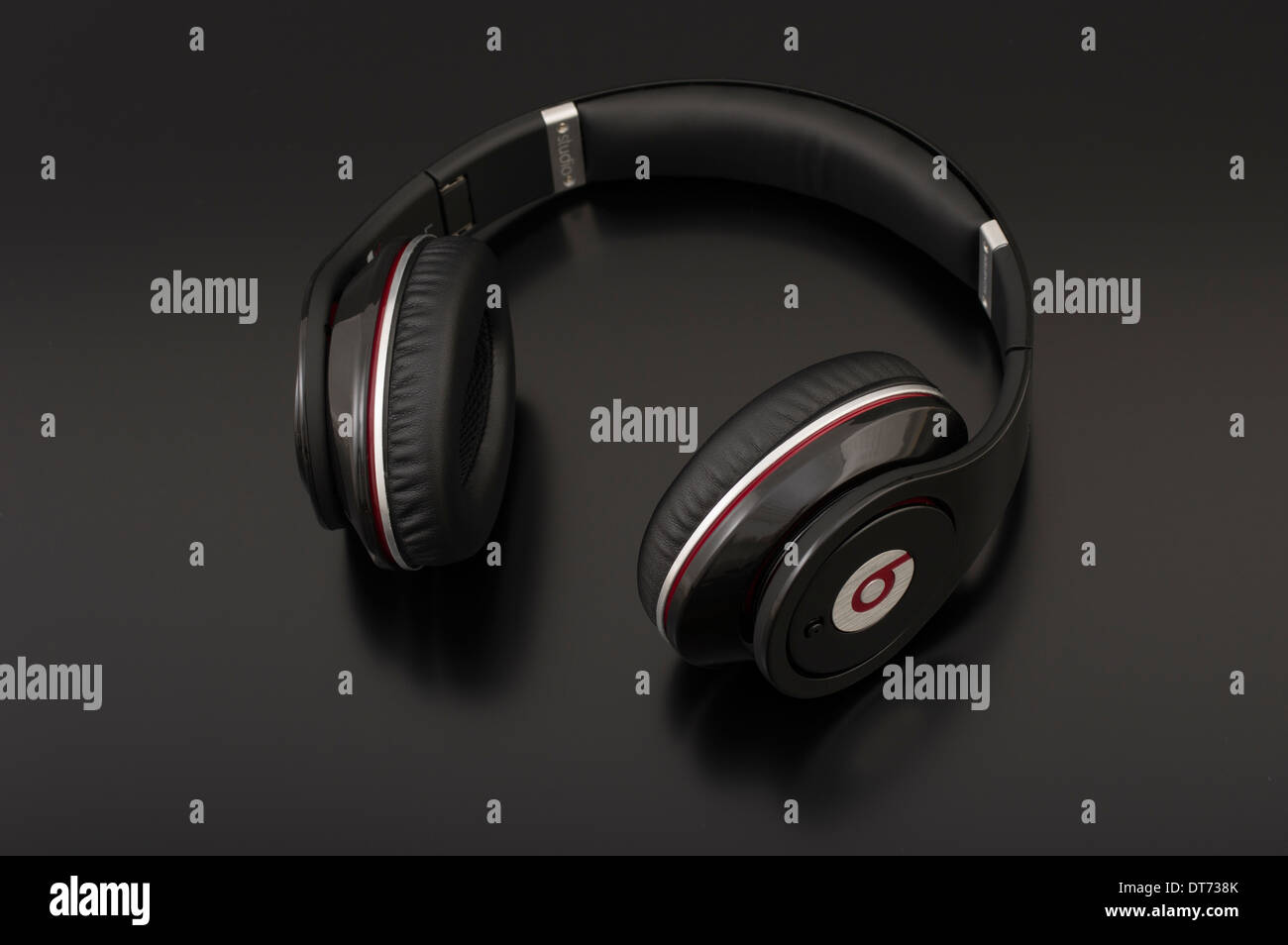 Beats by Dr. Dre iconic headphones 1st generation Studio headphones - Stock Image