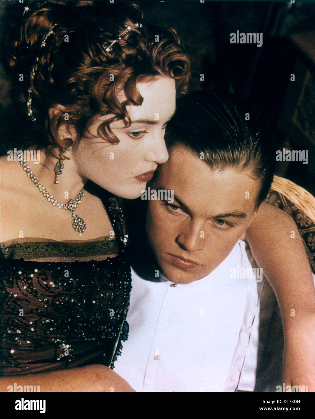 Kate Winslet Leonardo Dicaprio Titanic 1997 Stock Photo Alamy