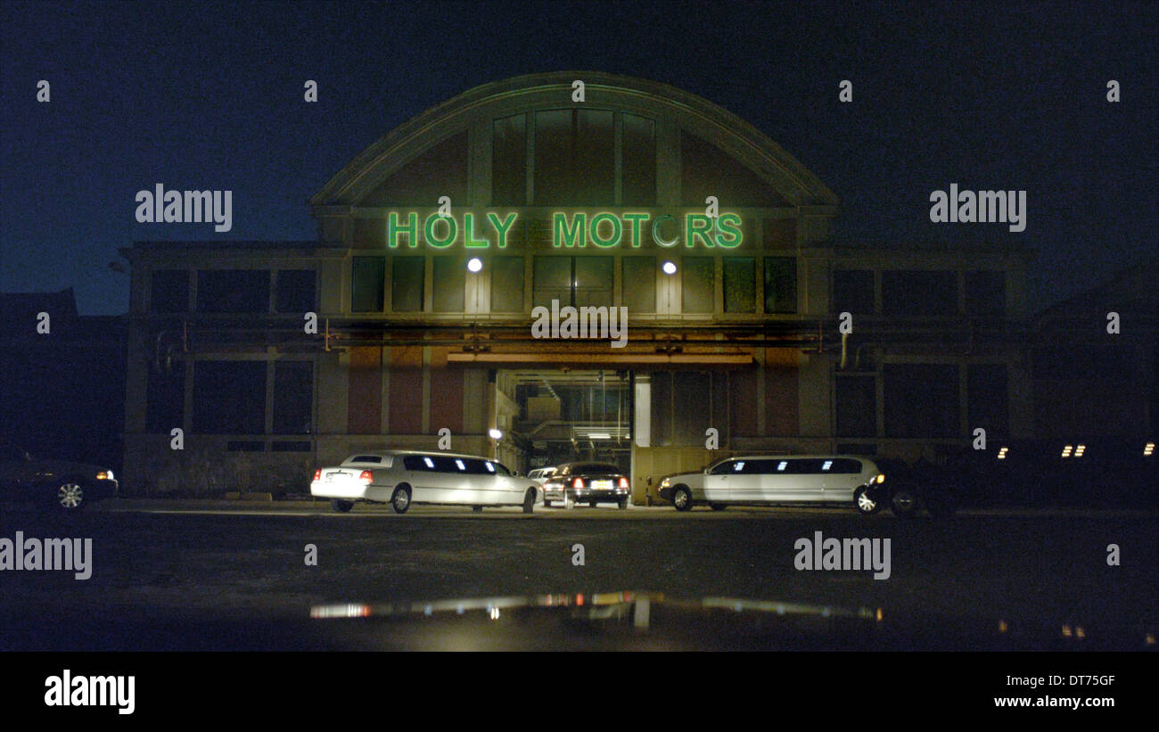 LIMOUSINES HOLY MOTORS (2012) - Stock Image