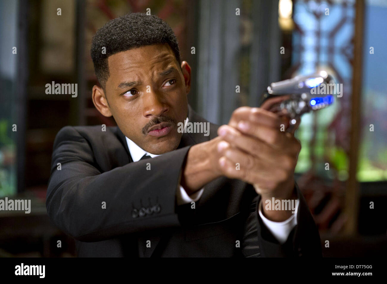 WILL SMITH MEN IN BLACK III (2012) - Stock Image