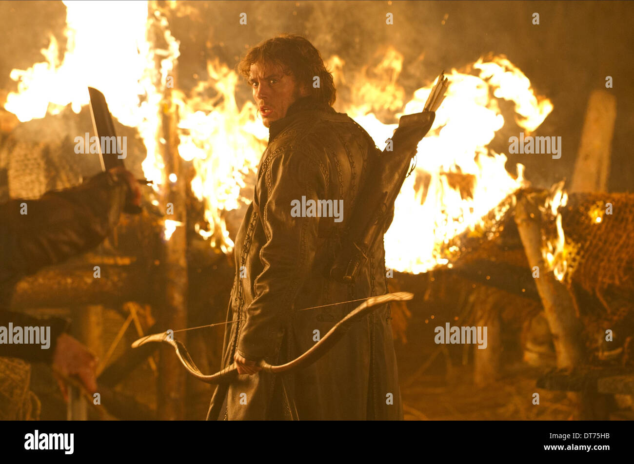 SAM CLAFLIN SNOW WHITE AND THE HUNTSMAN (2012) - Stock Image