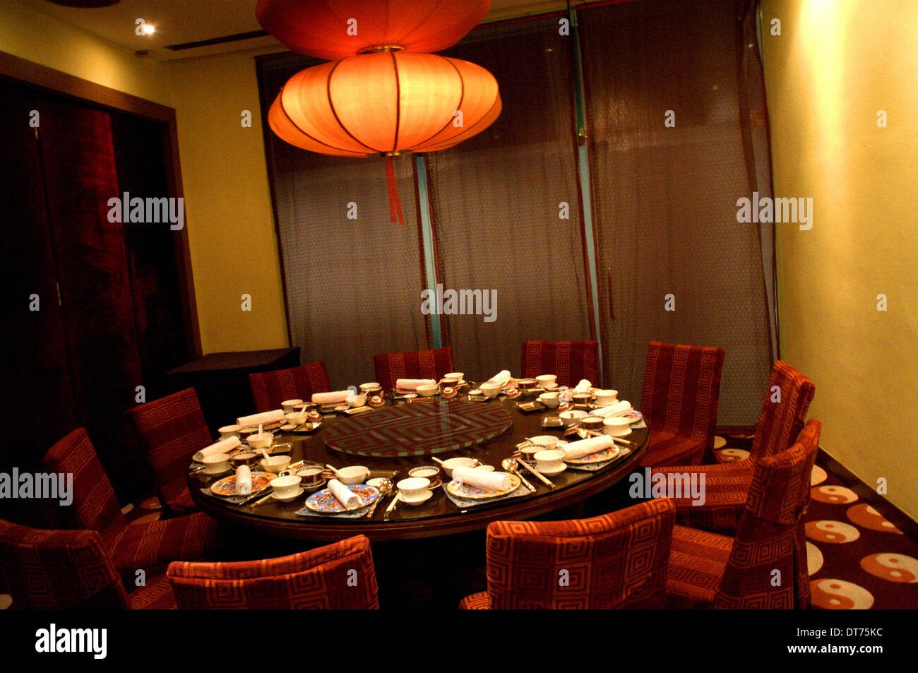 Chinese Restaurant Private Dining Room In Kuala Lumpur, Malaysia