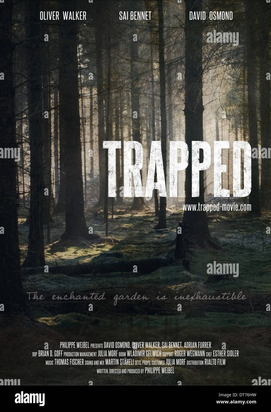 MOVIE POSTER TRAPPED (2012 Stock Photo: 66541717 - Alamy