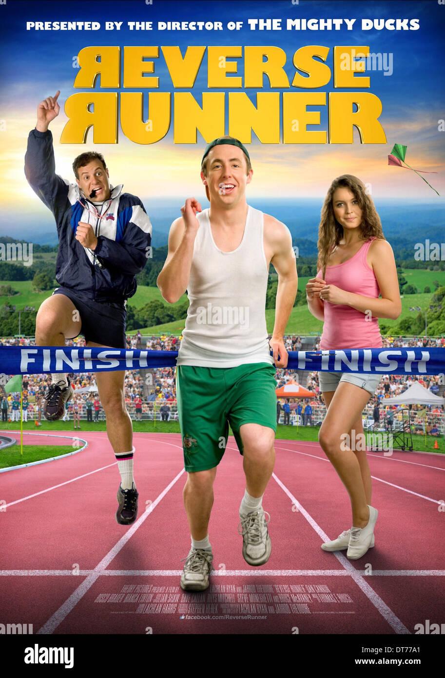 DAN CANNON & BIANCA LINTON REVERSE RUNNER (2012) - Stock Image