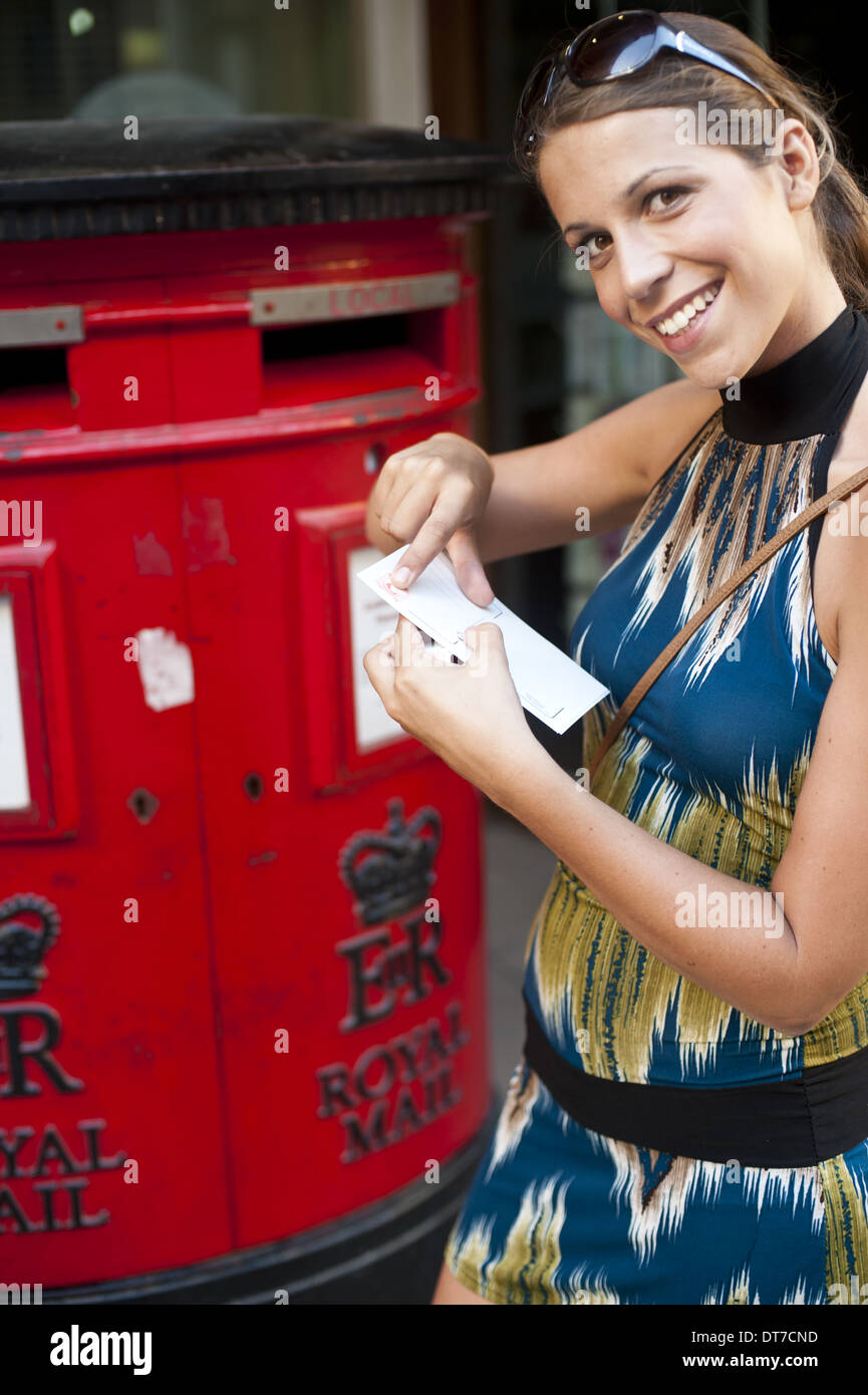 Red Mail Box Stock Photos & Red Mail Box Stock Images - Alamy