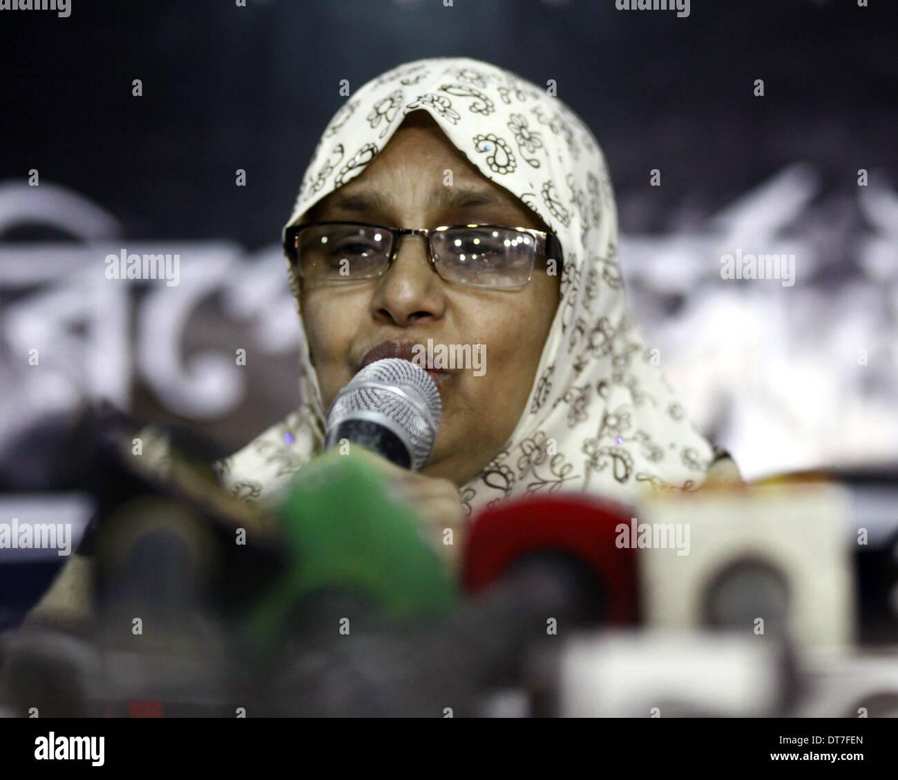 Dhaka,Bangladesh  11th February 2014  Journalist Sagor