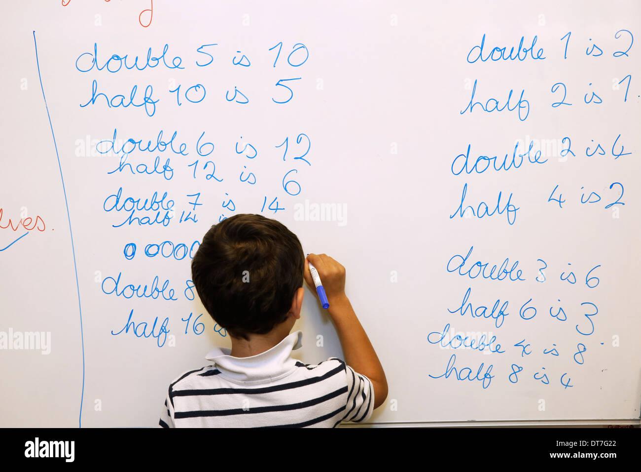 Secondary school - Stock Image