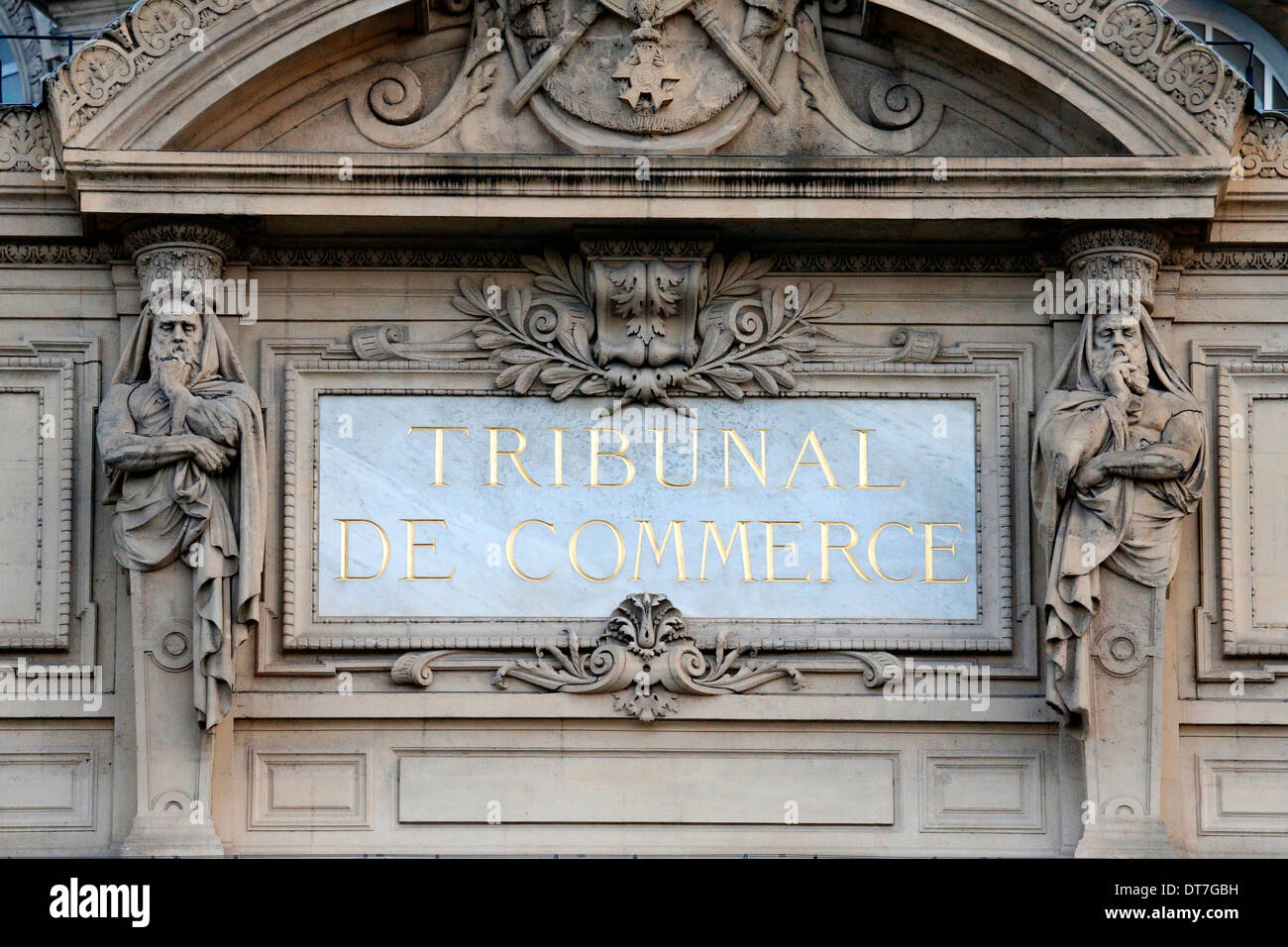 Commercial court. - Stock Image