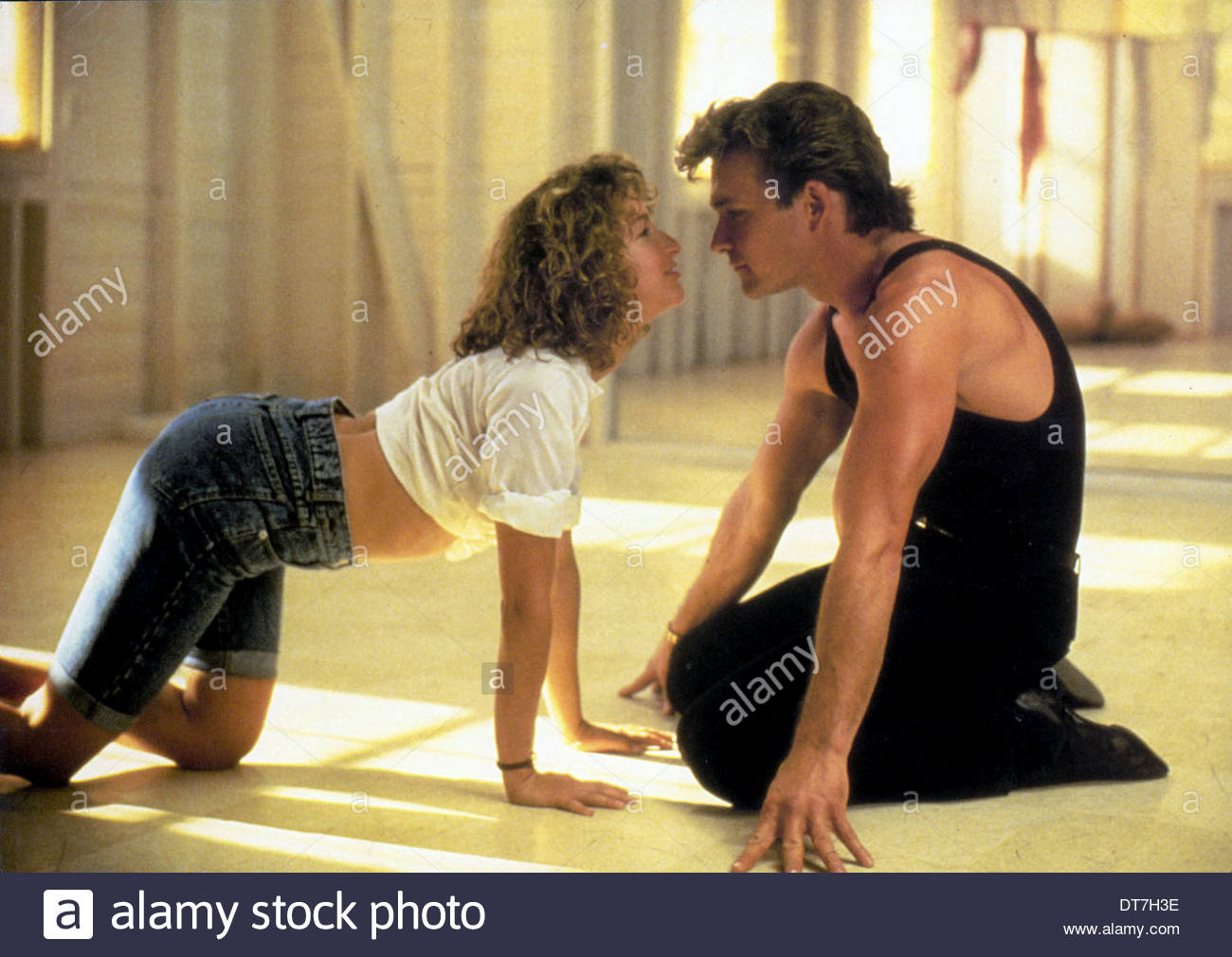 Jennifer Grey Patrick Swayze Dirty Dancing 1987 Stock Photo Alamy