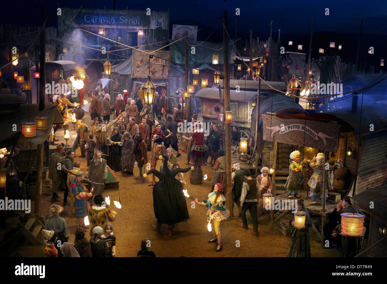 CARNIVAL SCENE THE MAN WHO LAUGHS; L'HOMME QUI RIT (2012) - Stock Image