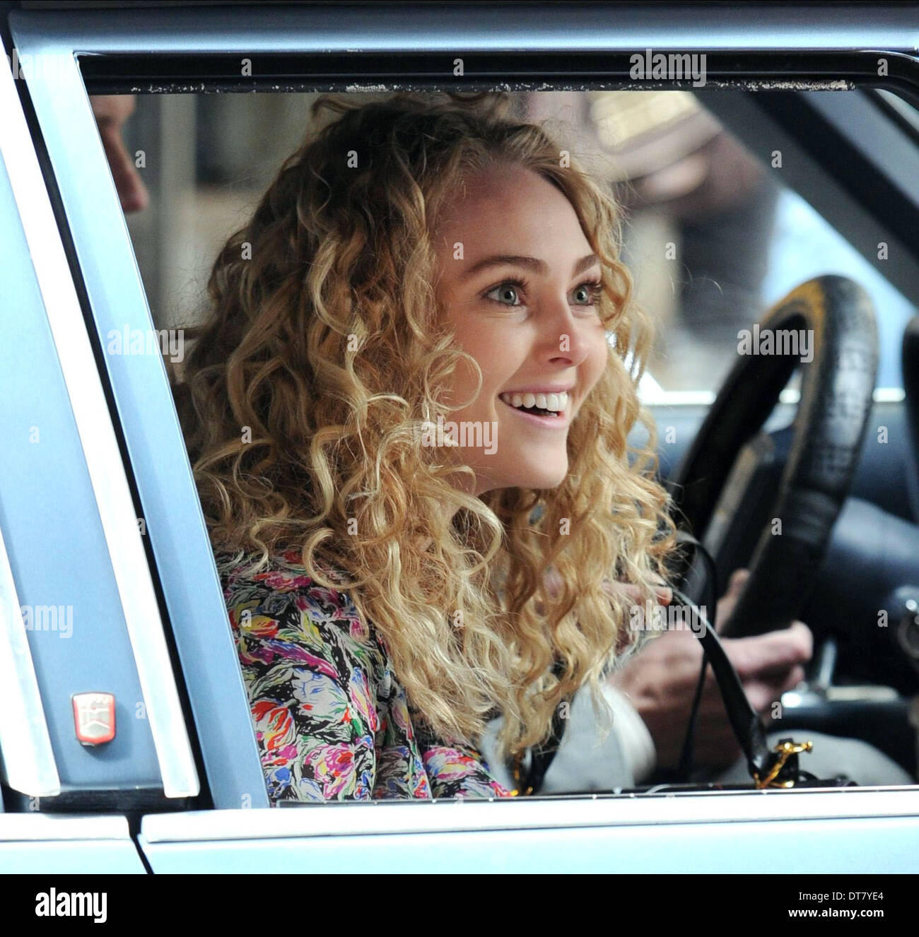 ANNASOPHIA ROBB THE CARRIE DIARIES (2012) - Stock Image
