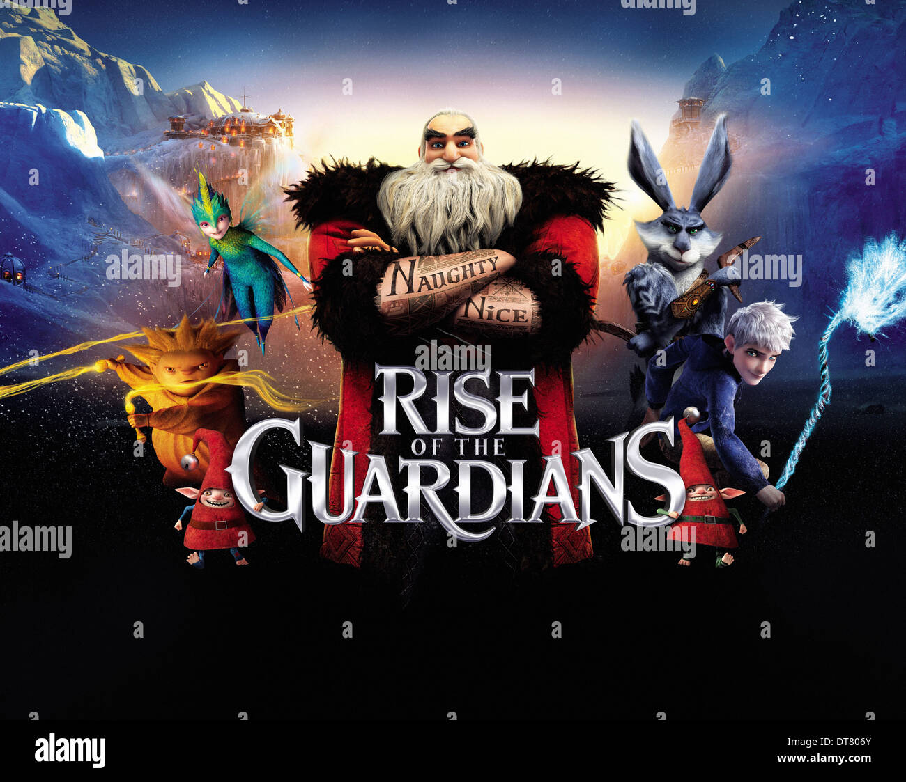 Sandman Tooth North Bunnymund Frost Rise Of The Guardians 2012 Stock Photo Alamy