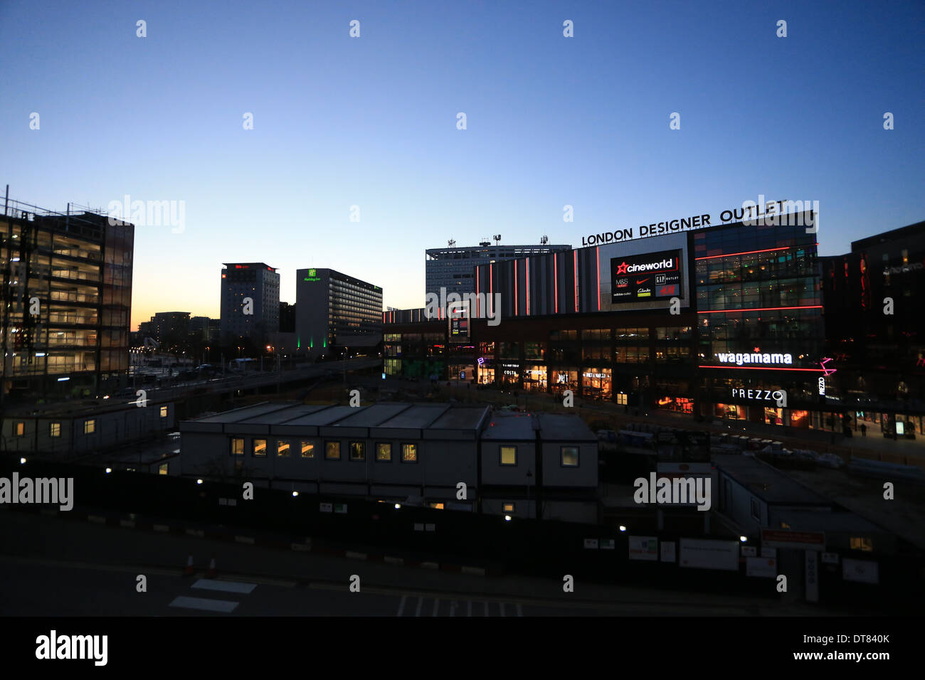 London Designer Outlet, Wembley Park - Stock Image