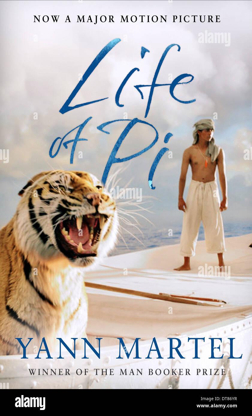Tiger Suraj Sharma Poster Life Of Pi 2012 Stock Photo Alamy