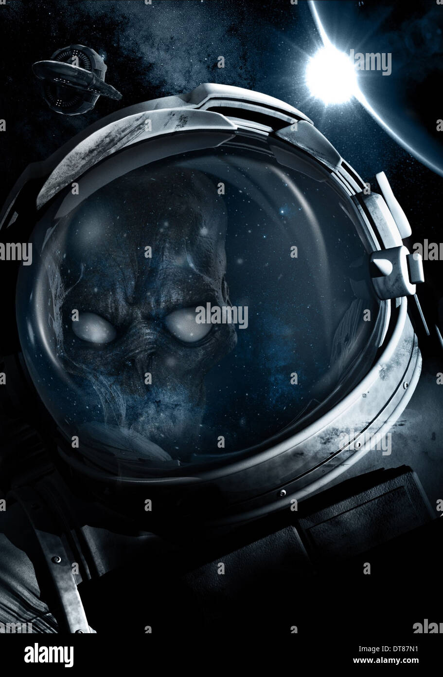 ASTRONAUT STRANDED (2012) - Stock Image