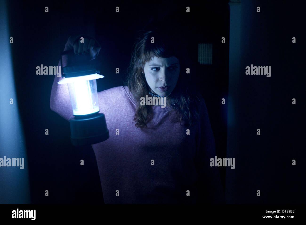 ASHLEY SPILLERS SATURDAY MORNING MASSACRE (2012) - Stock Image