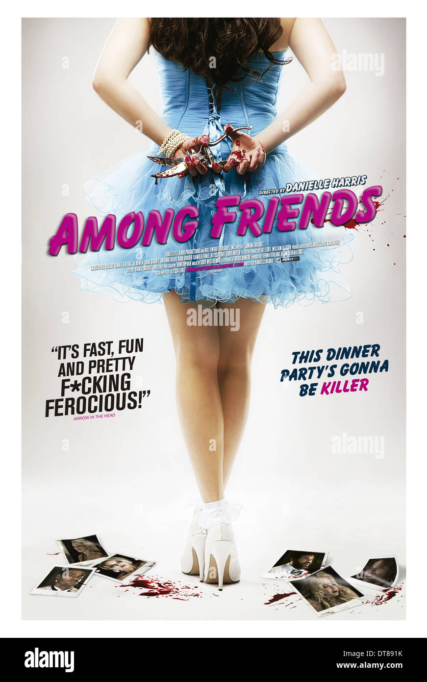 MOVIE POSTER AMONG FRIENDS (2012) - Stock Image