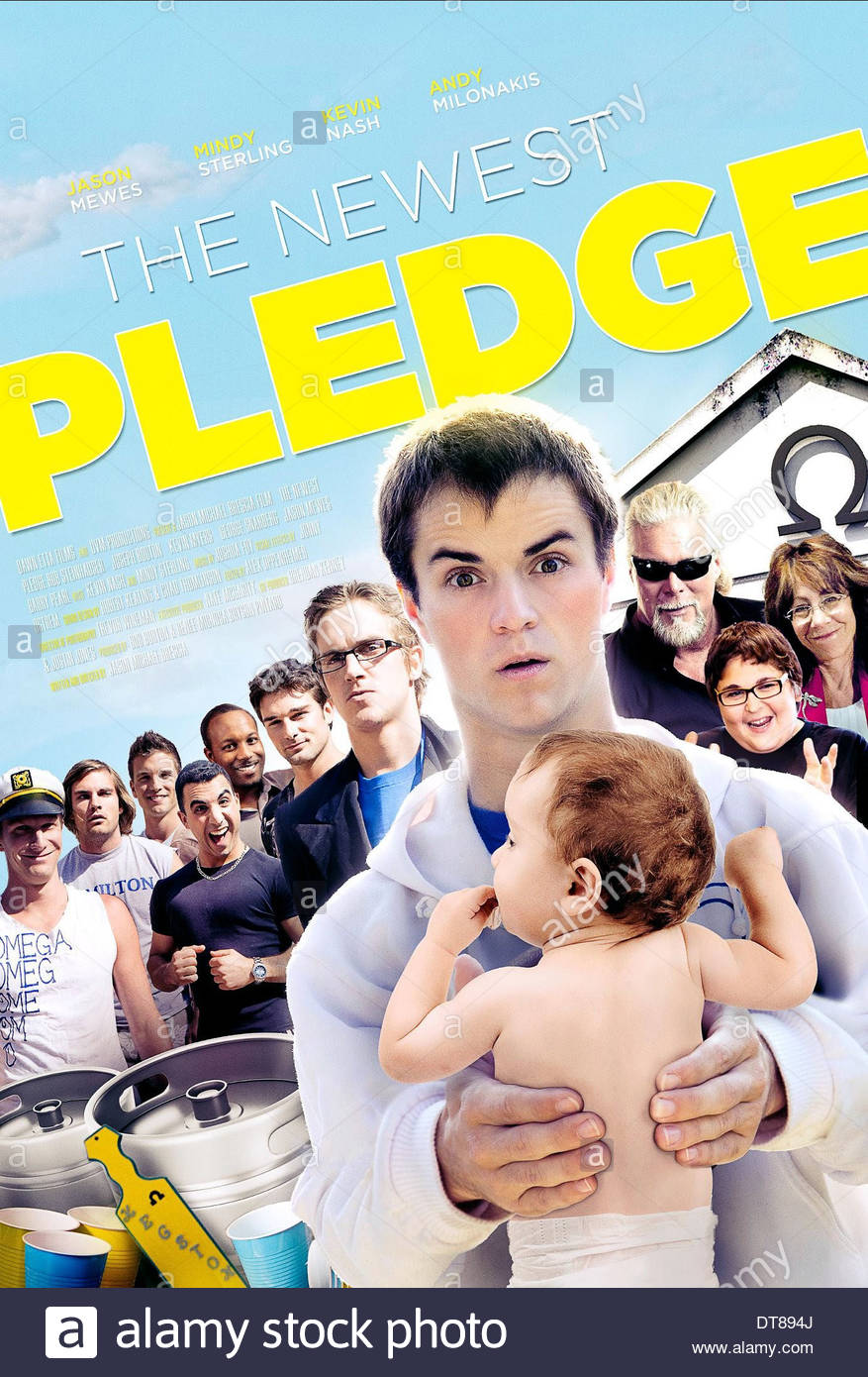 ROB STEINHAUSER POSTER THE NEWEST PLEDGE (2012) - Stock Image