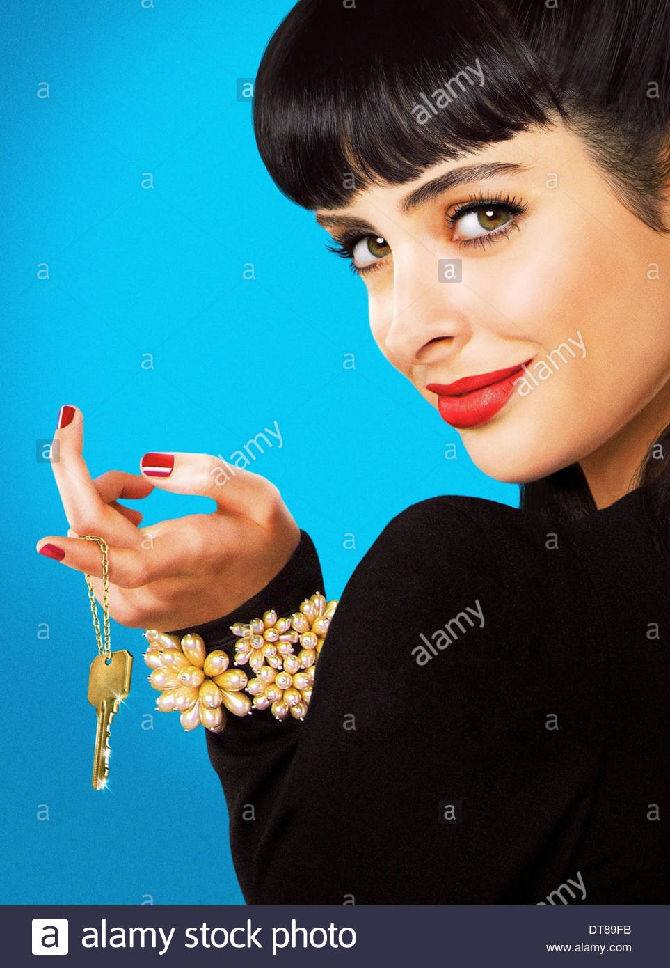 KRYSTEN RITTER DON'T TRUST THE B---- IN APARTMENT 23 (2012) - Stock Image