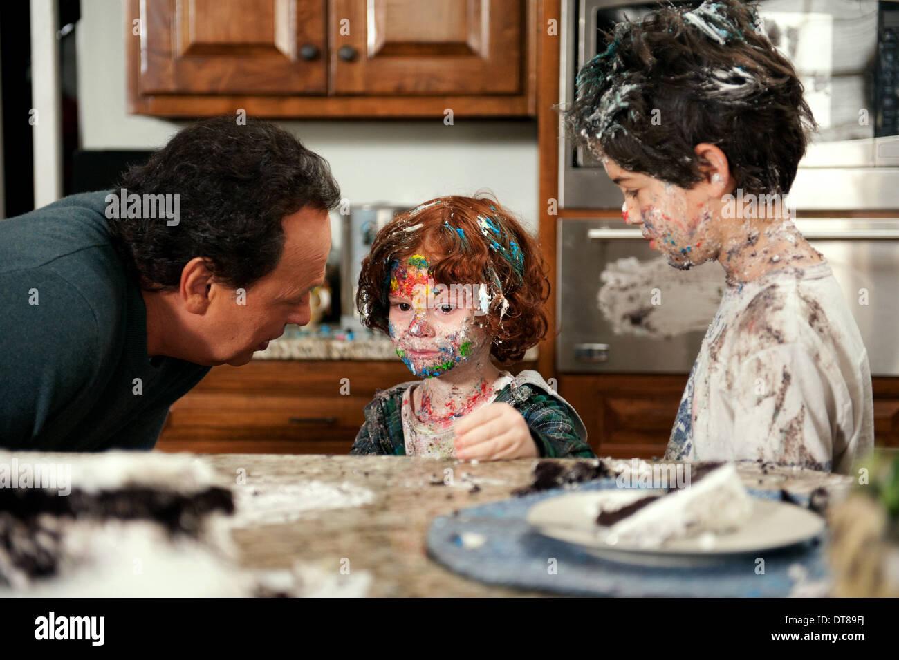BILLY CRYSTAL KYLE HARRISON BREITKOPF & JOSHUA RUSH PARENTAL GUIDANCE (2012) - Stock Image