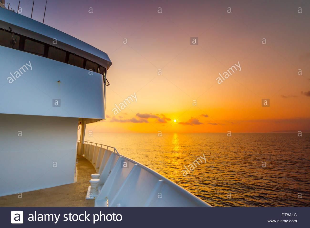Morning Over Maui, Hawaii, USA - Stock Image