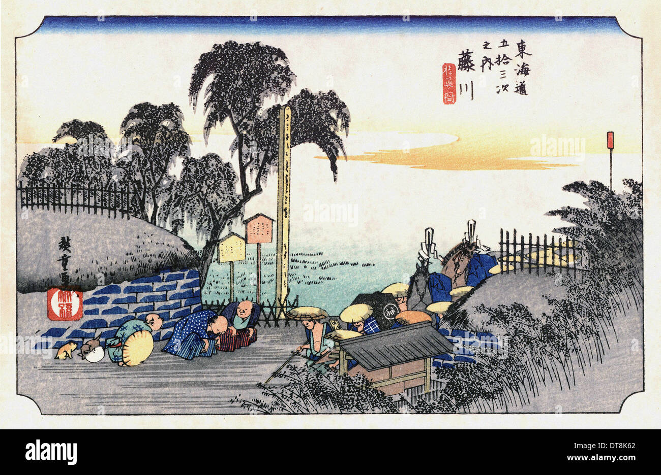 utagawa hiroshige 歌川 広重 the 53 stations of the tokaido