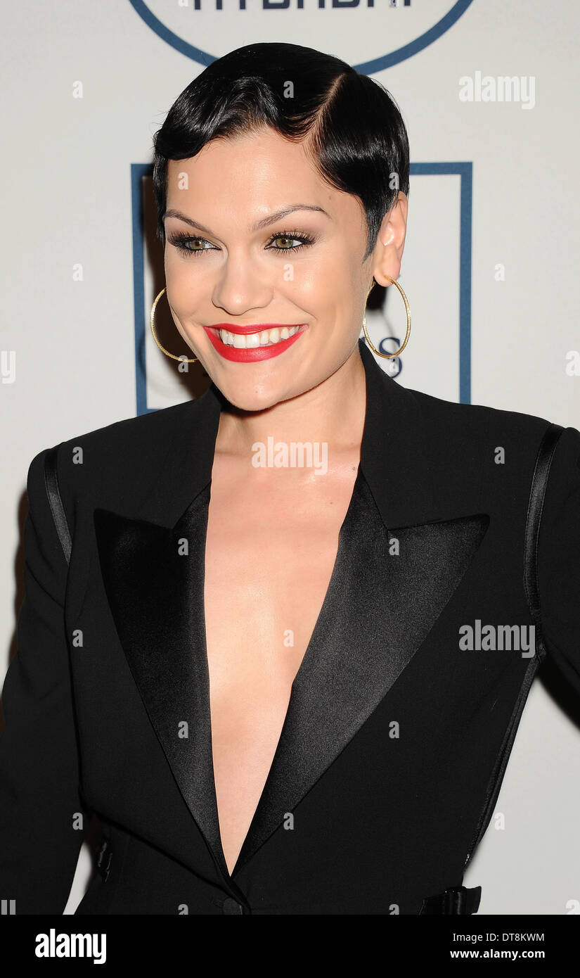 JESSIE J  US singer in February 2014. Photo Jeffrey Mayer - Stock Image