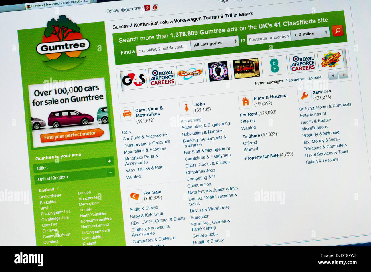 Gumtree Stock Photos & Gumtree Stock Images - Alamy