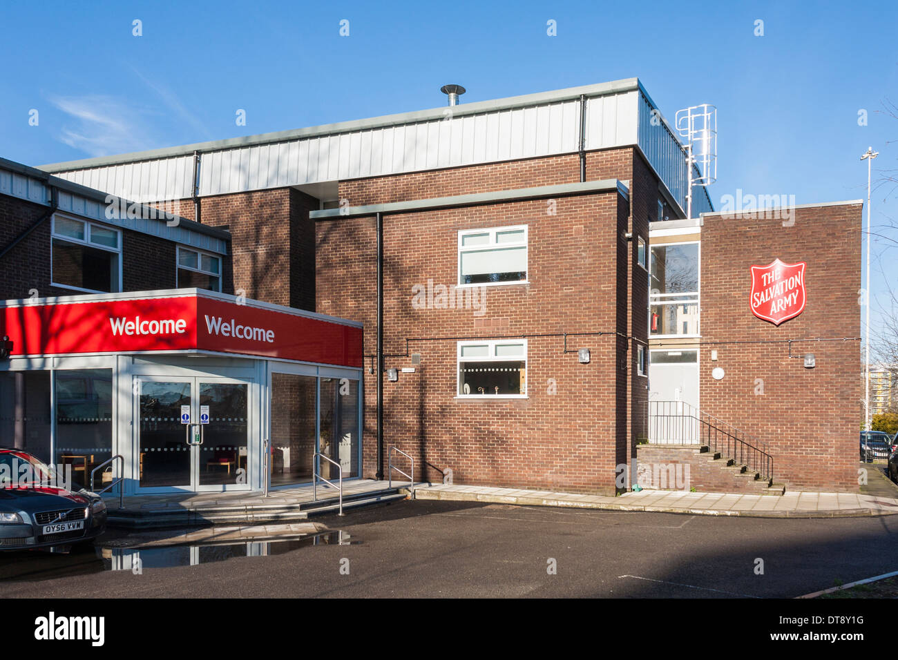 Salvation Army church and community centre, Reading, Berkshire, England, GB, UK. - Stock Image
