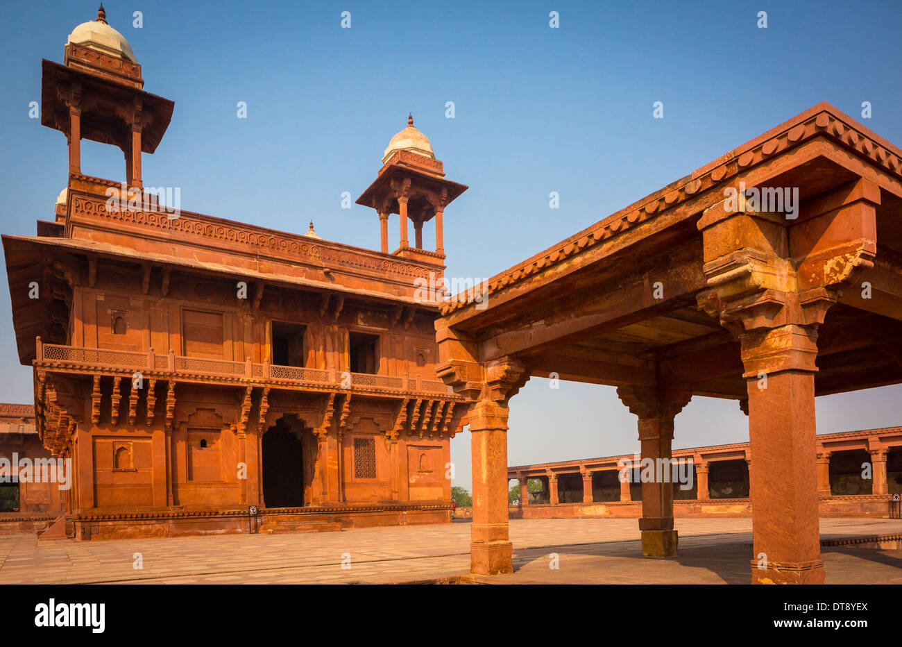 Fatehpur Sikri is a city and a municipal board in Agra district in the state of Uttar Pradesh, India. - Stock Image