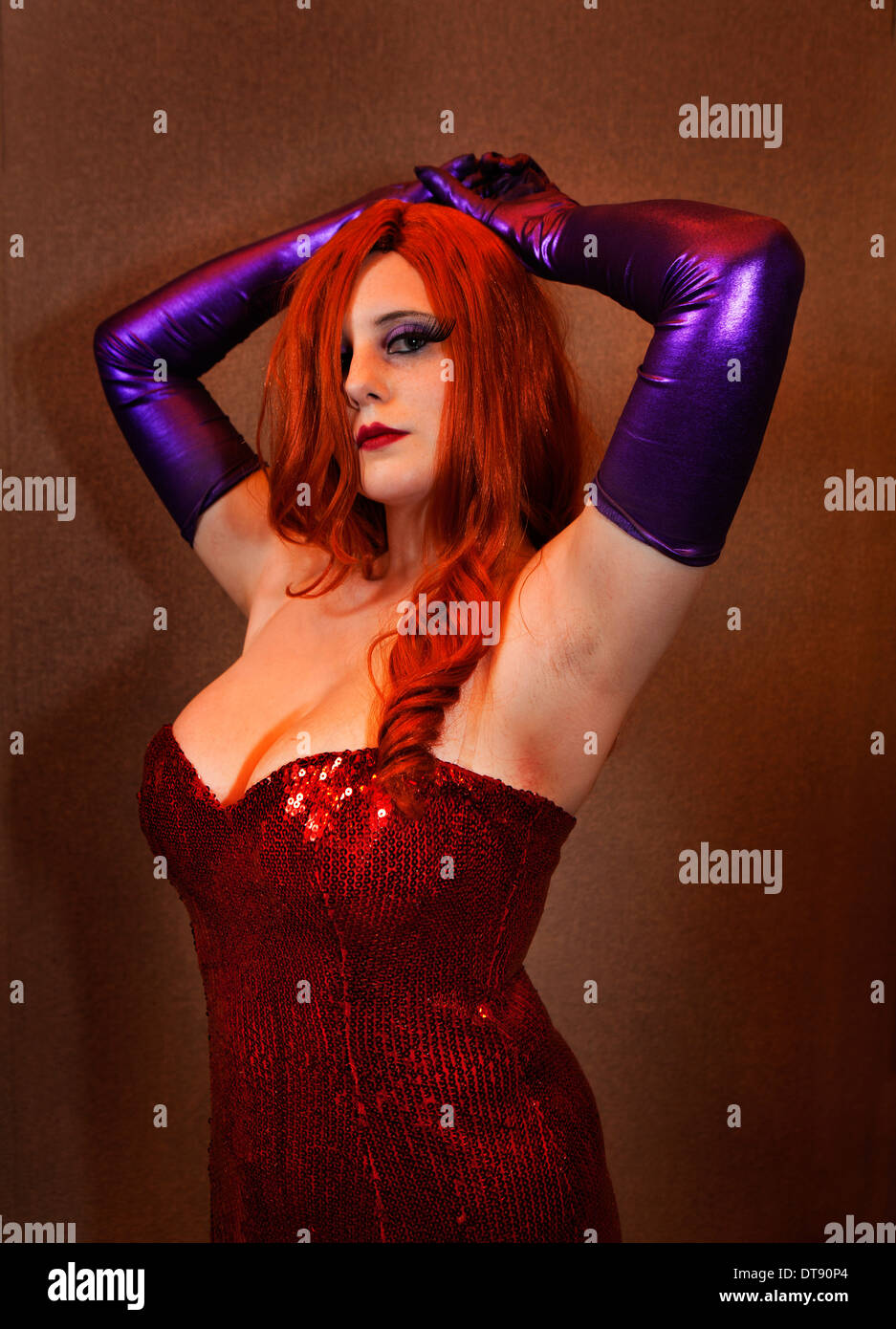 Jessica Rabbit Stock Photos & Jessica Rabbit Stock Images