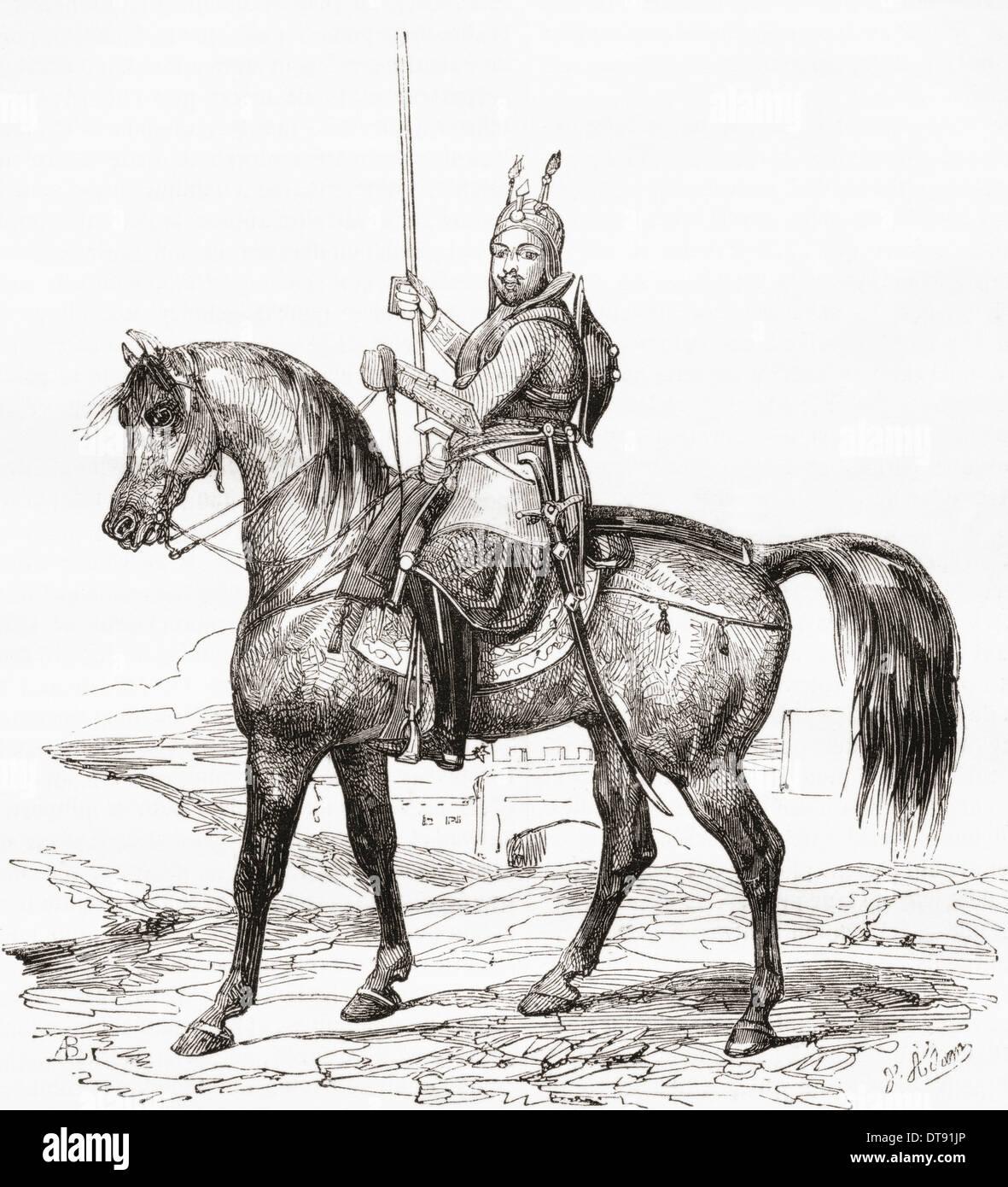 Amir Akbar Khan, 1816–1845, born Mohammad Akbar Khan and also known as Wazir Akbar Khan. Afghan prince, general, Emir. - Stock Image