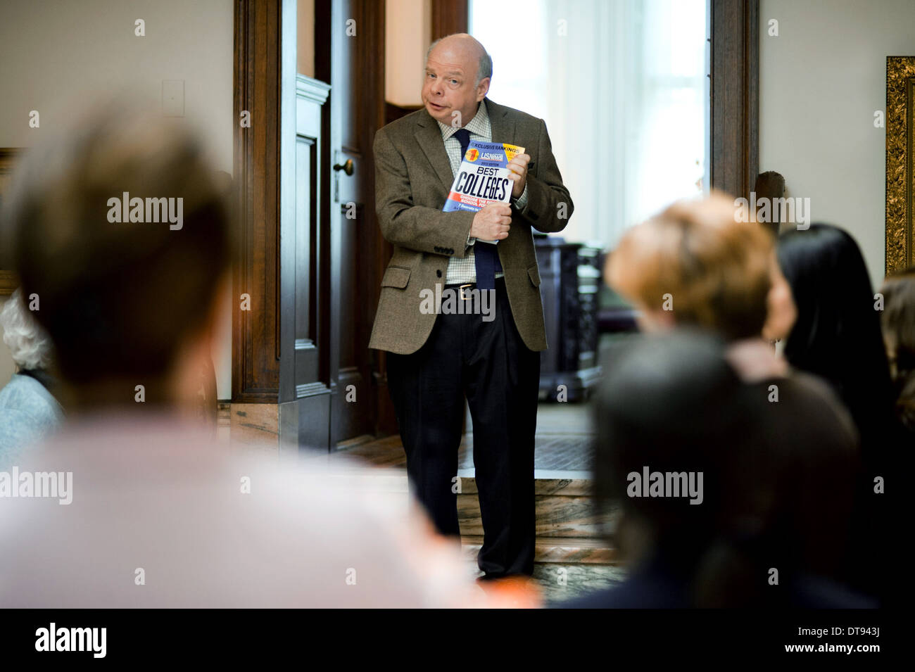 WALLACE SHAWN ADMISSION (2013) - Stock Image