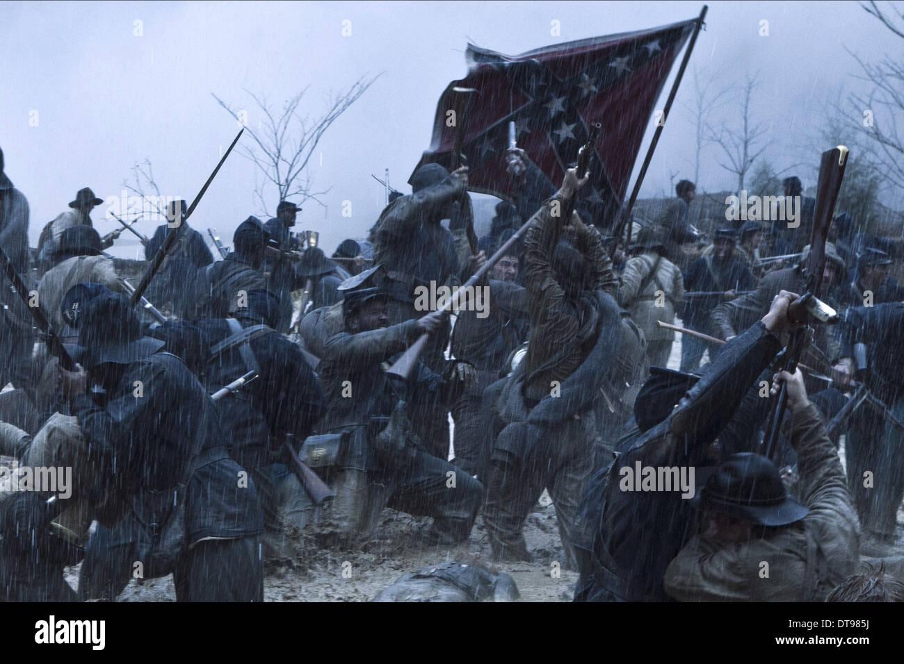 CIVIL WAR BATTLE SCENE LINCOLN (2012) - Stock Image