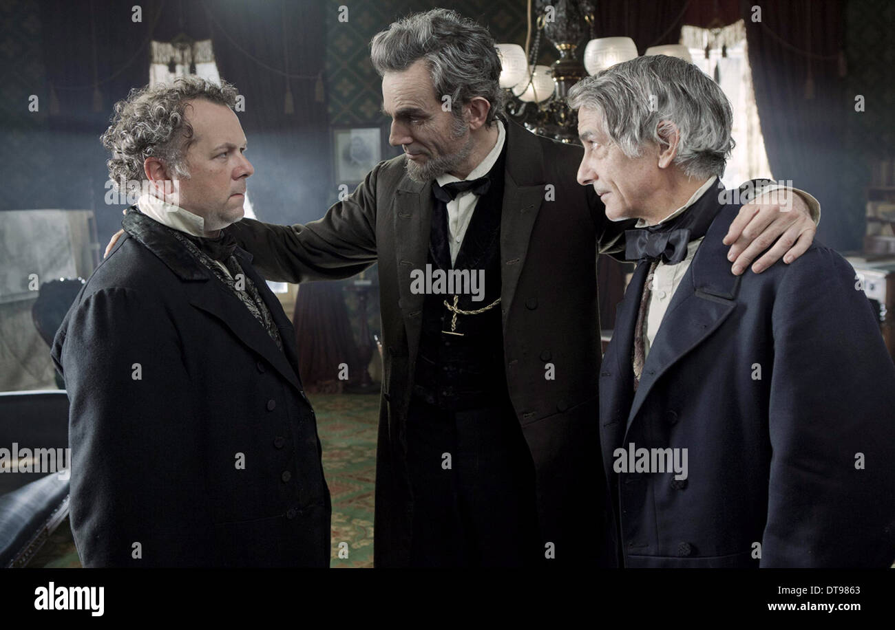 David Costabile Daniel Day Lewis David Strathairn Lincoln 2012 Stock Photo Alamy
