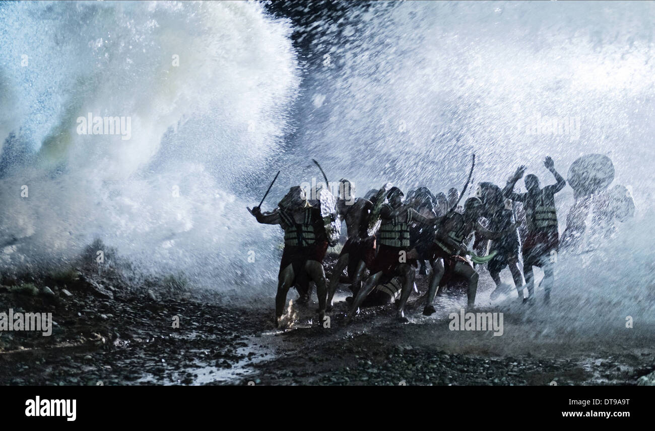 DROWNING EGYPTIAN ARMY THE BIBLE (2013) - Stock Image