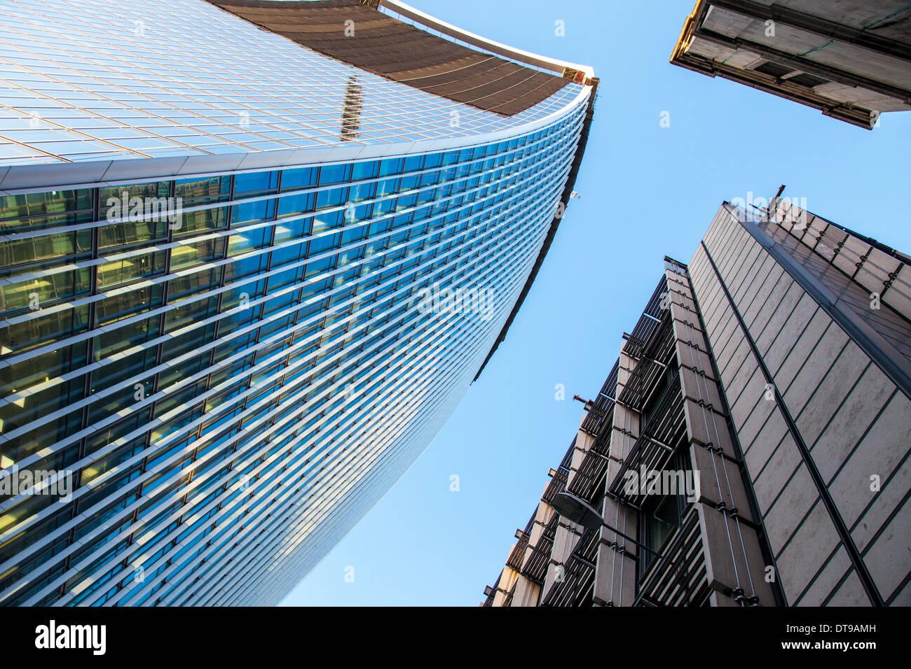 Architecture The City Of London UK - Stock Image