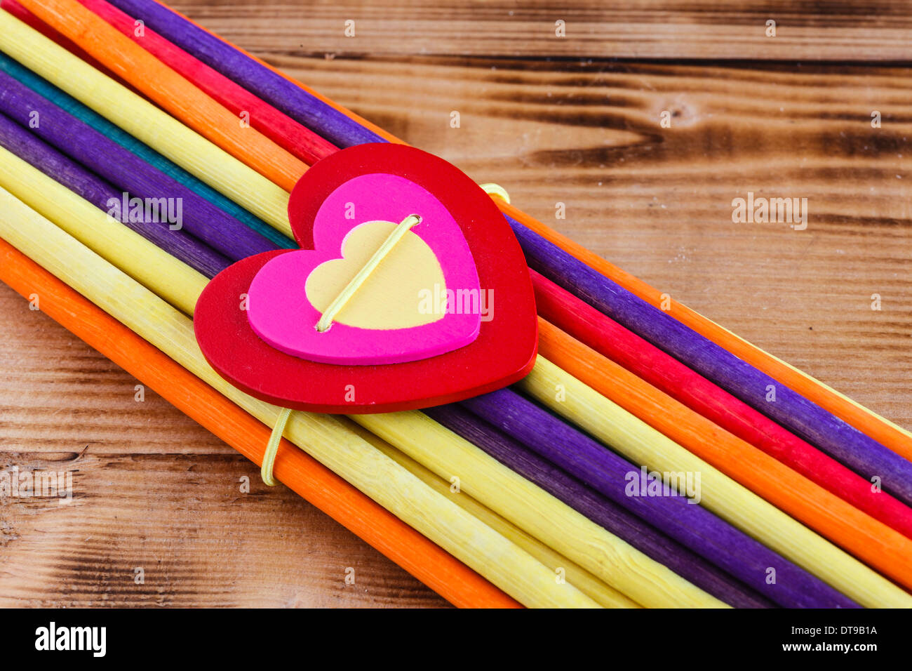 Heart to the craft - Stock Image