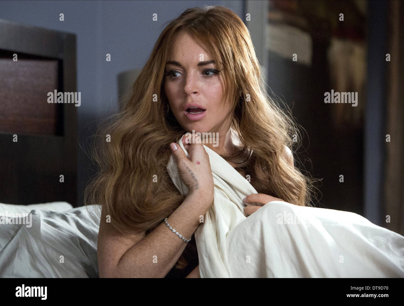 Lindsay Lohan Scary Movie 5 2013 Stock Photo Alamy