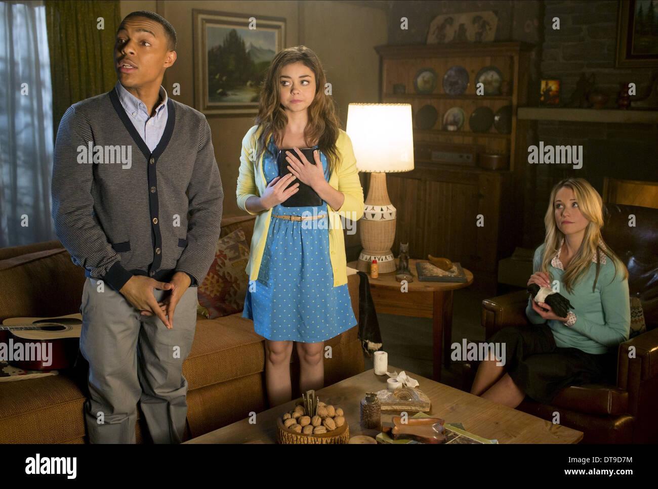 Bow Wow Sarah Hyland Katrina Bowden Scary Movie 5 2013 Stock Photo Alamy