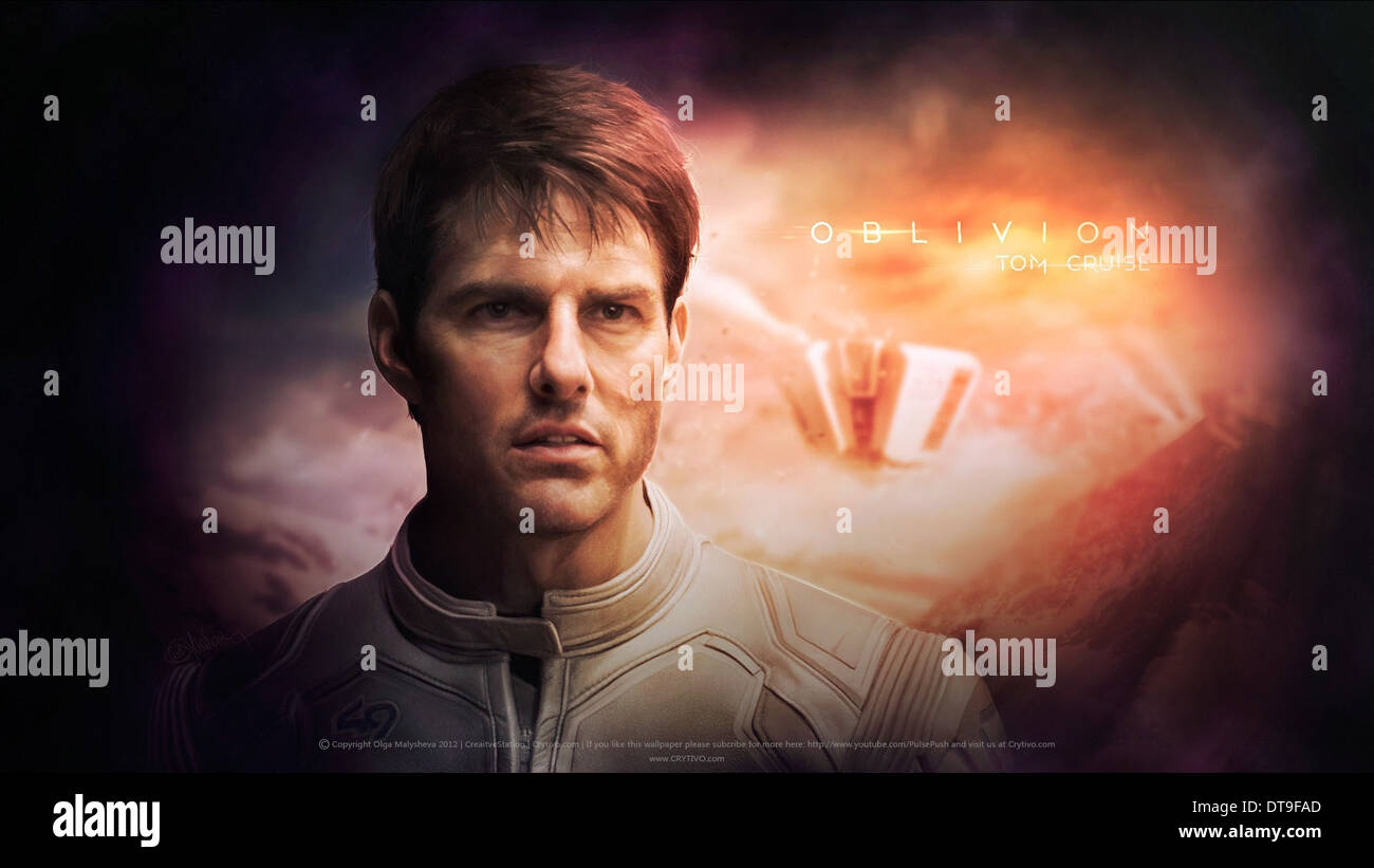 TOM CRUISE OBLIVION (2013) - Stock Image