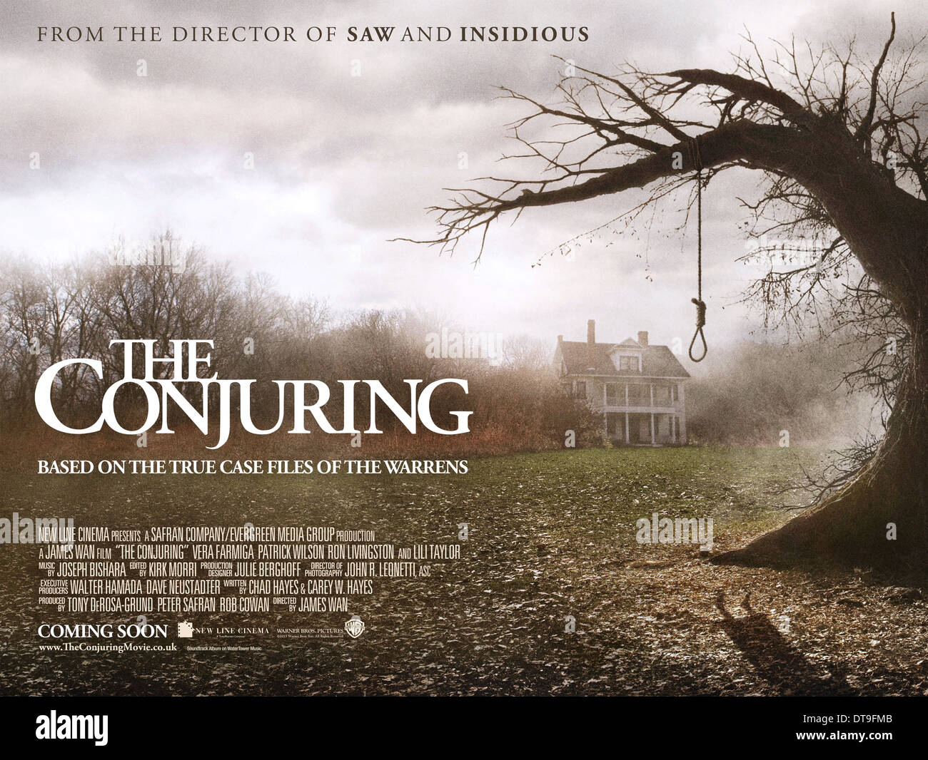 Movie Poster The Conjuring 2013 Stock Photo Alamy