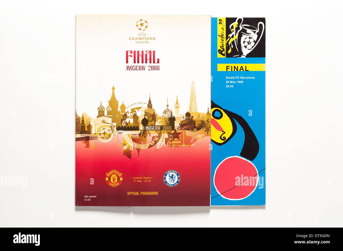 UEFA Champions League Final 1999 2008