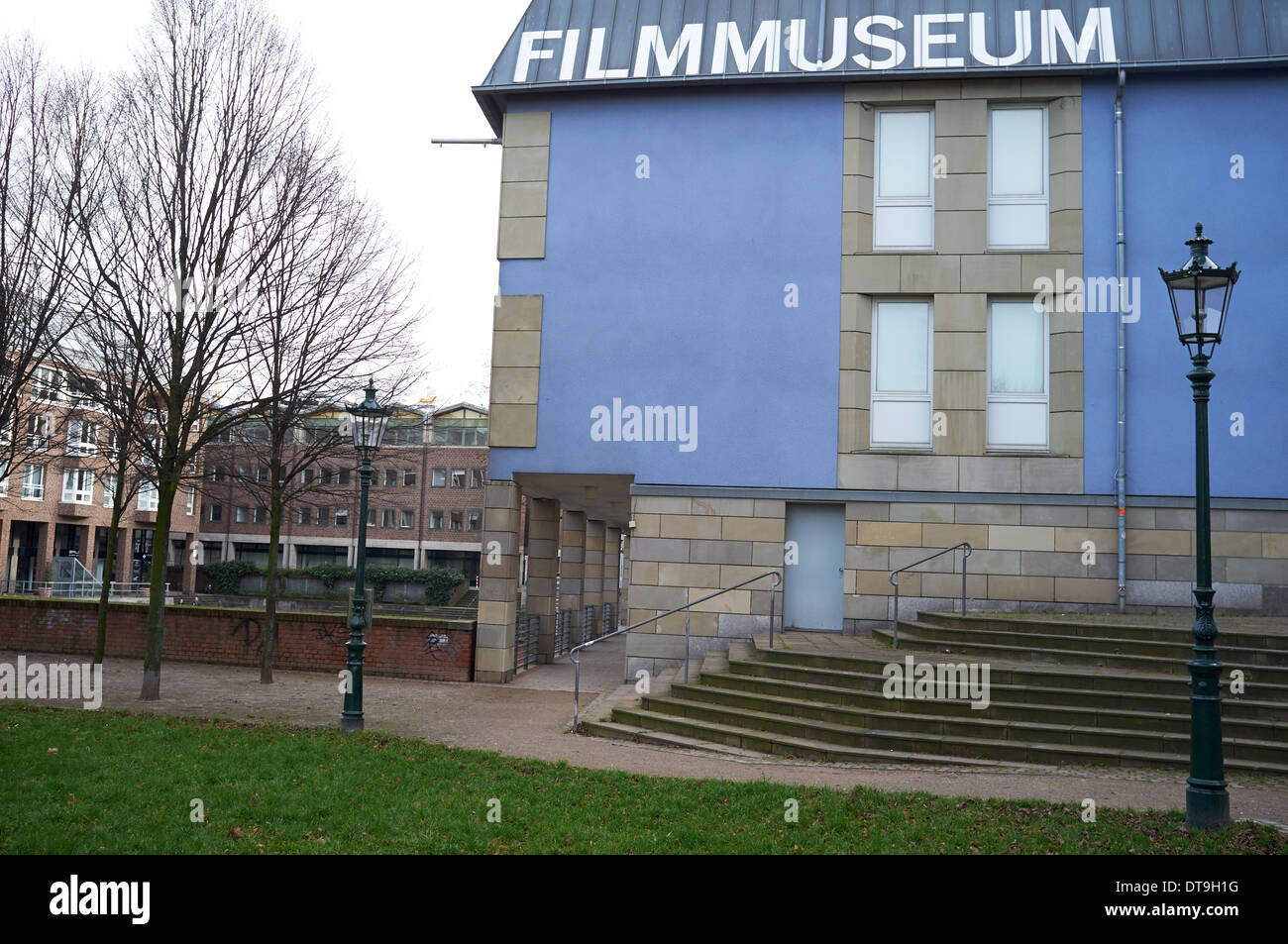 Black Box film museum, Dusseldorf, Germany. - Stock Image
