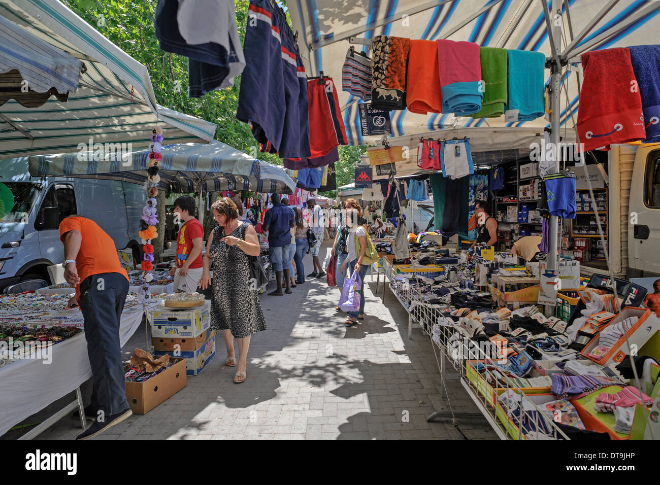 Local Market In Randazzo Near Mount Etna Catania Sicily Italy Stock Photo Alamy
