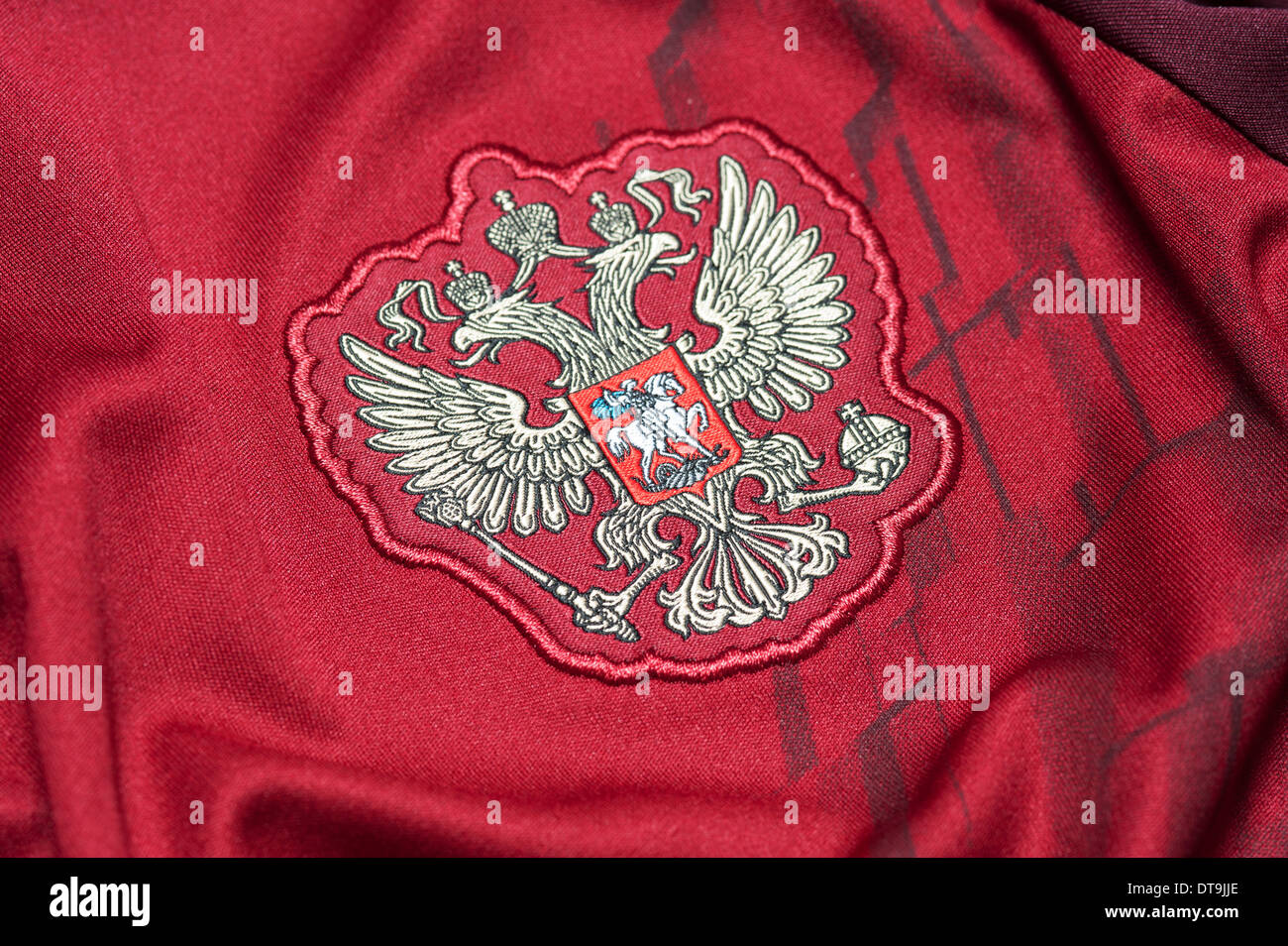 best service e5906 a4b53 Close up of the Russian National Football team kit Stock ...