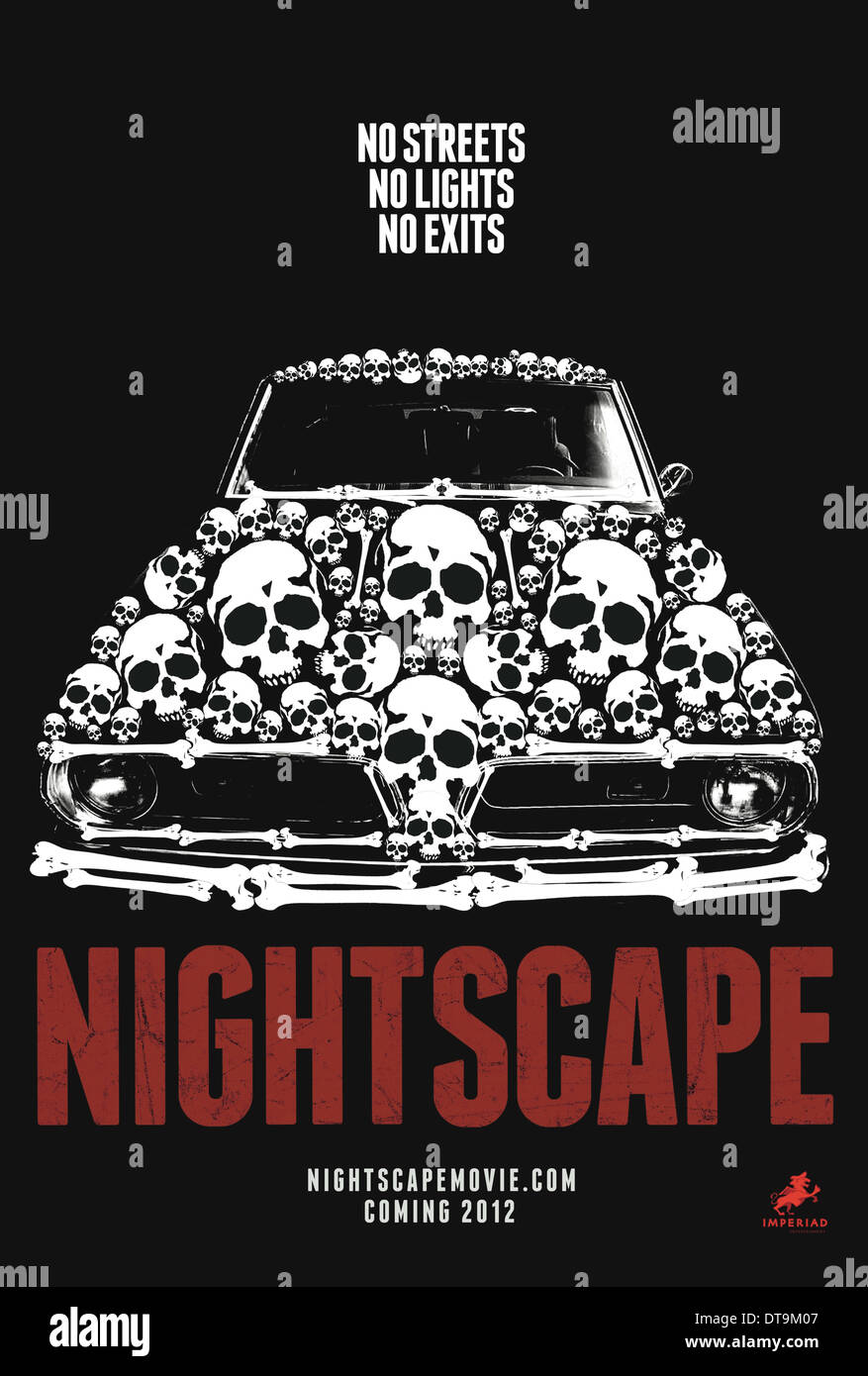 MOVIE POSTER NIGHTSCAPE (2012) - Stock Image